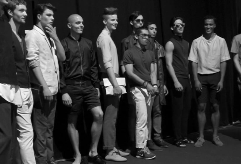 Amsterdam Fashion Week Backstage Mevan Kaluarachchi – S/S 14